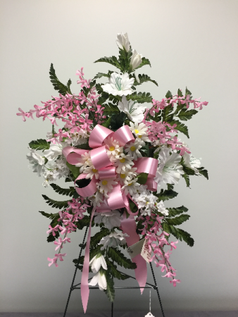 Pink & White Memorial Day Flowers