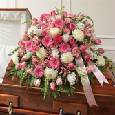 Funeral Casket Spray Posh Funeral Flowers Delivery Fort Worth