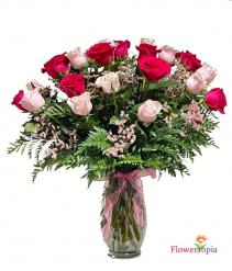 Pinkeligious Rose Arrangement