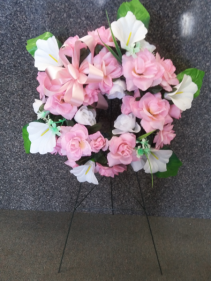 Pinkie Pie Silk Wreath