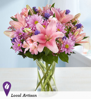 pinks and lavenders Easter Spring Mothersday in Berkley, MI | DYNASTY FLOWERS & GIFTS