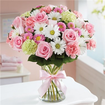 Pinky Dinky floral arrangement