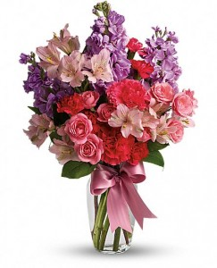 Pinky Promise  Flower Arrangement in Lauderhill, FL | BLOSSOM STREET FLORIST