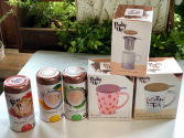 Pinky up cup and tea set gift item