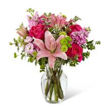 Pinky  Vase Arrangement