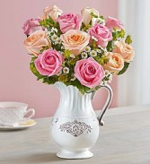 Pitcher Full of Roses In