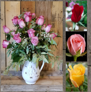 Pitcher of Buds Keepsake Chasing Lilies Romantic Choice in Paris, KY | Chasing Lilies Floral