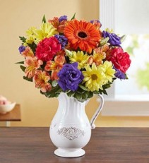 Pitcher Perfect Flower Arrangement 148596
