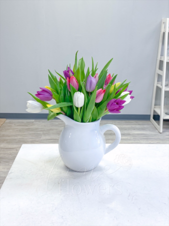 Pitcher Perfect Vase Arrangement