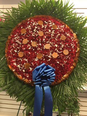 PIZZA FLOWERS! FUNERALS OR SPECIAL DAY