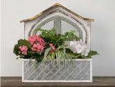 Planted Window Box Planter