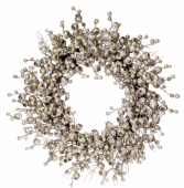 Plantinum Berry  Winter Wreath