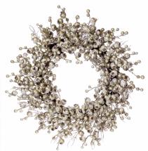 Plantinum Berry  Winter Wreath