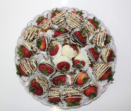 Platter of 25 Premium Strawberries