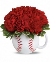 Play Ball Mug Arrangement