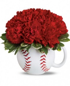 Play Ball Mug Arrangement in Wray, CO | LEIGH FLORAL & GIFT
