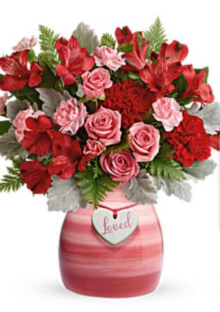 Playful Pink Valentine's