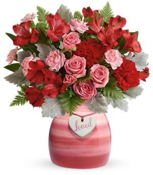 Playfully Pink Valentines in International Falls, MN | Gearhart's Floral And Gifts