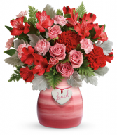 Playfully Pink  All-Around Floral Arrangement