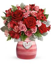 Playfully Pink Bouquet Valentine's Day