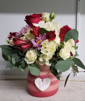Playfully Pink Bouquet-SOLD OUT fresh arrangement in Bolivar, MO | The Flower Patch & More