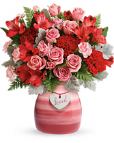 Playfully Pink Bouquet Valentine