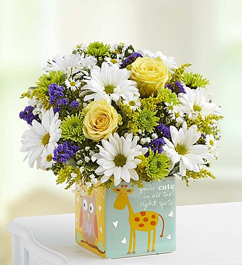 147187 Playtime For Baby Boy Bouquet In Beaufort Sc Carolina