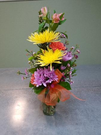 Pleasant Thoughts Vase Arrangement