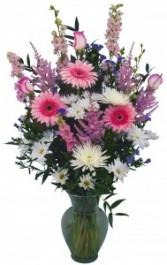 Pleasantly Pink Vase