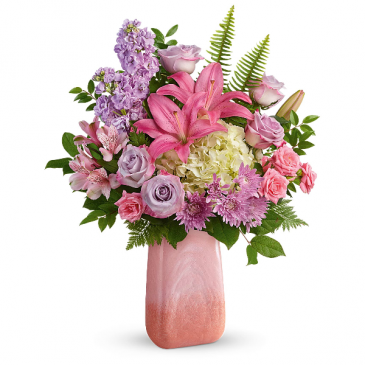 Pleasing Pastels Bouquet Fresh Arrangement