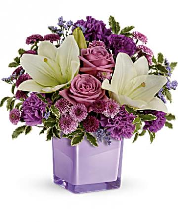 Pleasing Purple Arrangement