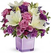 Pleasing Purple Bouqet Arrangement
