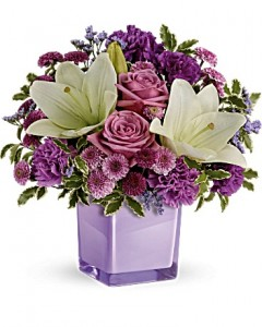 Pleasing Purple Bouquet in Jasper, TX | BOBBIE'S BOKAY FLORIST
