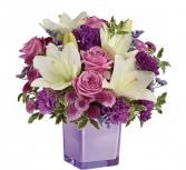 Pleasing Purple Bouquet