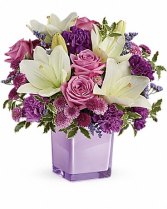 Pleasing Purple Flower Bouquet