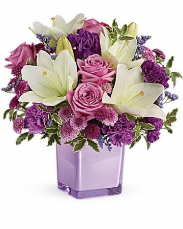 Pleasing Purple Flower Bouquet