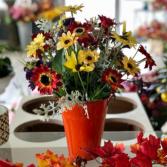Plentiful Harvest Silk Floral Arrangement