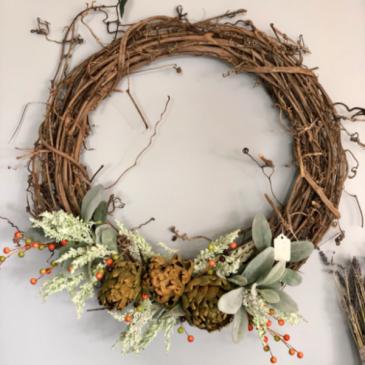Plentiful Harvest Wreath