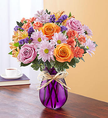 Plum Crazy For Fall 1-800 Flowers Bouquet