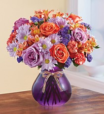 Plum Crazy™ for Fall Fresh Arrangement