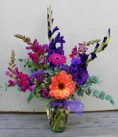 Plum Passion  Locally and Regionally Grown Fresh Flowers