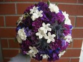 PLUM PASSION Bridal Bouquet