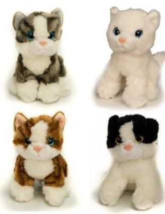 Soft Snuggly Kitten Add-On Item