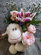 Plush and Posy Bouquet Bouquet
