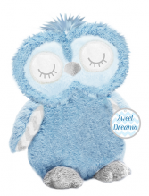 Plush Baby Blue Owl