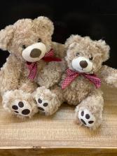 Plush bear Small or Large
