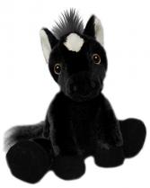 Plush Black Horse