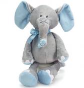 Plush blue elephant
