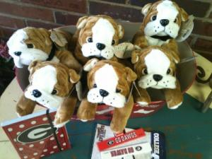 Plush Bulldog  in Athens, GA | FLOWERLAND