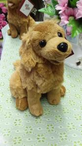 Plush Golden Retriever Plush Animal